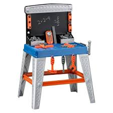 Build Dramatic Play And Fine Motor Skills With A Wooden Workbench Best Tool Bench For Toddlers