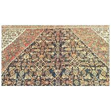 11x17 rug blue hand knotted handmade antique rugs palace oversize woven made pad
