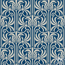 art nouveau feather damask removable wallpaper on art nouveau art deco wallpaper designs with art nouveau feather damask removable wallpaper peel and stick
