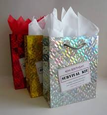 40th birthday survival kit for female fun gift idea novelty present for