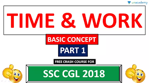 Basic Concep Time Work Tricks Part 1 Basic Concept In Hindi