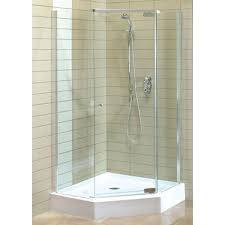 5 sided shower stall