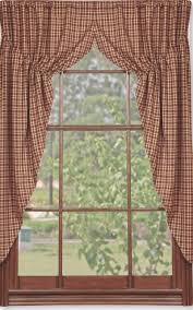 Primitive Curtains For Kitchen Vintage Star Black Prairie Curtain Primitives And Wines
