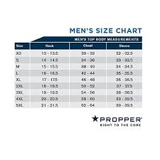 Propper Size Chart Propper Mens Short Sleeve Ice Performance Polo