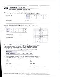 relations and functions worksheet linear non linear 1