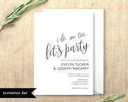 Wedding Invitation Set Templates Wedding Invites Templates Printable Invitation Template Set Invite