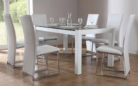 white gloss dining table and chairs thecubicleviews