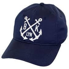brooklyn hat co montauk leather strapback baseball cap dad hat