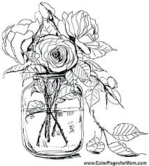 free printable flower coloring pages for adults. Delighful For Flower Printable Coloring Pages Books For Adults  Book Flowers Page On Free Printable Flower Coloring Pages For Adults O