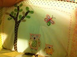 hayley nursery bedding set owl nursery pottery barn kids review four little monsters blog
