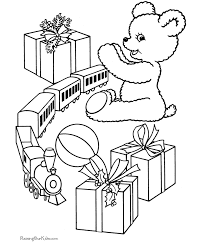 Small Picture Christmas Coloring Pictures New Toys