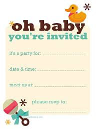 baby shower invitations free templates download baby shower invitation templates and rectangular shaped