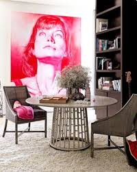 big ap 20 dining rooms with large scale art