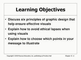 Pearson Learning Design Principles Designing Visual Communication Ppt Download