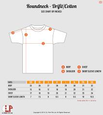 Cotton On Shirt Size Chart Dreamworks