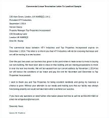 tenancy termination letter template. Ideas Of 9 Lease Termination Letter Template End To Landlord From