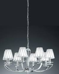 good crystal chandelier with shades for chrome and crystal 8 light chandelier with shades 22 crystal