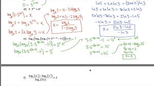 solving logarithmic equations worksheet with answers jennarocca
