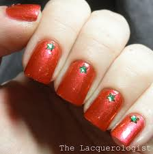 Super Simple Christmas Nails with MASH Rhinestones! • Casual Contrast