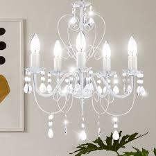 Kronleuchter Deckenlampe Lüster Hängelampe Beleuchtung Metall Globo 63126 5