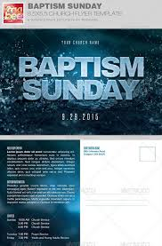 cleaning service advisement flyers baptism sunday church flyer invite template church events