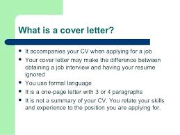 Cv Cover Letter Difference Journalinvestmentgroup Com