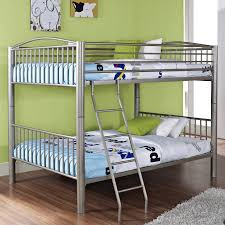 Duro Hanley Full over Full Bunk Bed Black