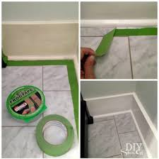 nice clean line repeat until all top baseboard seams are sealed now repeat the caulking steps without the tape where the shoe moulding rests agains the
