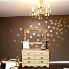 gold dot stickers dazzling metallic wall decals plus com easy l stick decal dots rose polka dot wall decals gold