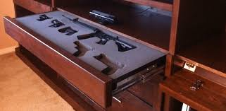 Rifle Coat Rack 100 Cool Secret Gun Cabinets for Your Home [PICS] 98