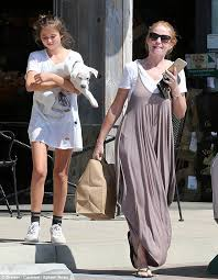 Patsy Palmer goes shopping with daughter Emilia in LA | Daily Mail Online
