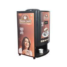 Coffee Vending Machine Suppliers In Hyderabad Adorable Four Lane Coffee Vending Machine कॉफ़ी वेंडिंग मशीन