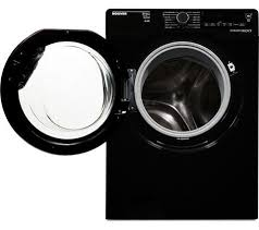 black washer and dryer. HOOVER Dynamic Next Advance WDXAC6852B Washer Dryer - Black And
