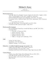 College Basketball Coach Resume College Basketball Coach Resume ...