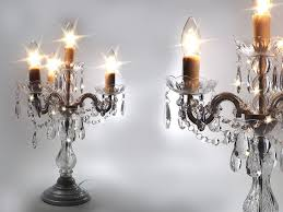 table lamp crystal candelabra best inspiration for table