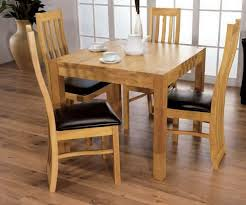 dining chairs for sale set of 4. furniture link eve natural oak dining set - square with 4 chairs for sale of
