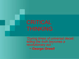 Creative and Critical Thinking Training Course Critical Thinking Training   Big Dividends