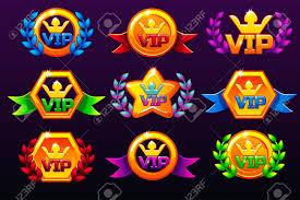 Coloured Templates Vip Icons For Awards Creating Icons For Mobile
