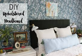 stunning inspiration ideas diy fabric headboard two it yourself diy drop cloth with front nail head trim i love our new upholstered and am so happy we