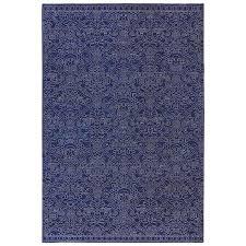 allen + roth Resbridge Indigo Indoor Moroccan Area Rug (Common: 8 x 10;