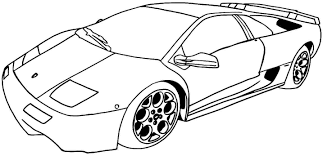 Vehicle Number Easy Coloring Pages Print Coloring