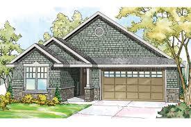 Shingle Style House Plan   Umpqua 30 825   Front Elevation ...
