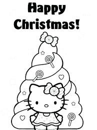 Kitty Coloring Page Edwardparra Co