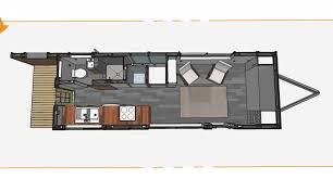 ... Bumper Pull Style MiniMotives 6 Outstanding Tiny House Plans For A  Gooseneck Trailer