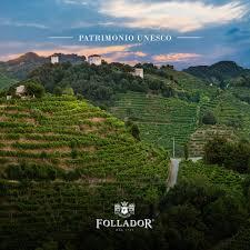 UNESCO: i colli del Conegliano Valdobbiadene sono patrimonio dell'umanità.  - Follador