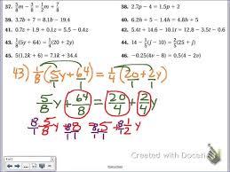 multi kindergarten solving equations with decimals worksheet math worksheets one step worksheet