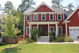 Houses Painted Red And  House Brick Colors Dunn Edwards - Dunn edwards exterior paint colors