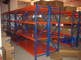 Powder Coating Racks Suppliers Logistic central medium duty steel shelves selective racking system 7