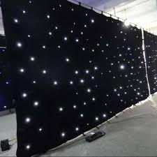 dj lights led curtain backdrop fabric wedding light curtain led star cloth curtain