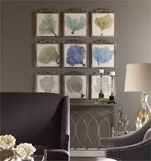 sea fans framed art in pastel blue and green prints are accented by narrow frames with on coastal wall art melbourne with 20 best coastal chic by mi casa chic images on pinterest coastal